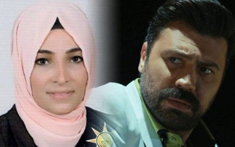 """AK Partili Taşdemir'in oyuncu Bülent Emrah Parlak ile """"bira"""" polemiği"""