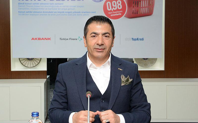 Erdoğan: Konut kredisinde Denizli'de ilk adımı DTO atmıştı