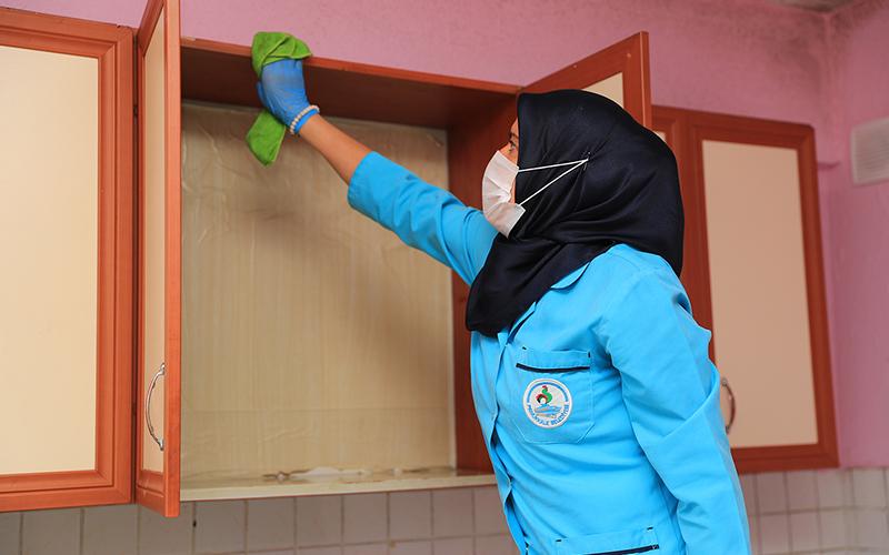 Pamukkale Belediyesi'nden evde temizlik hizmeti