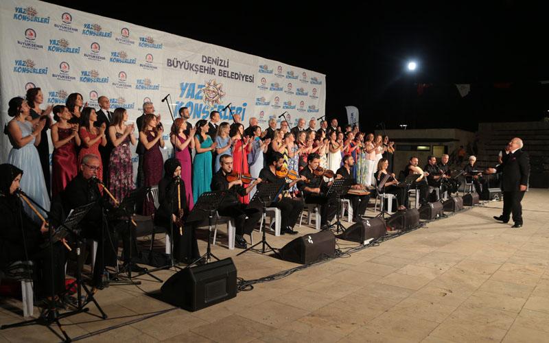 Büyükşehir Belediyesinden THM ve TSM konserleri