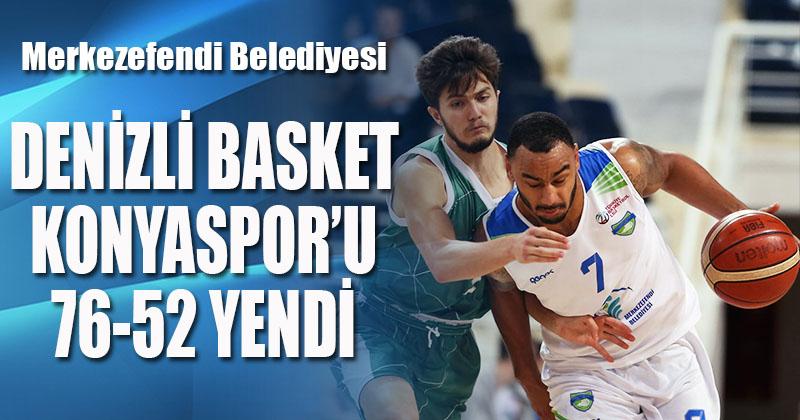 Denizli Basket, Konyaspor'u farklı yendi