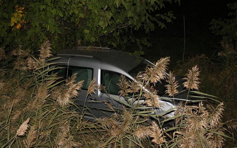 Hafif ticari araç devrildi: 4 yaralı