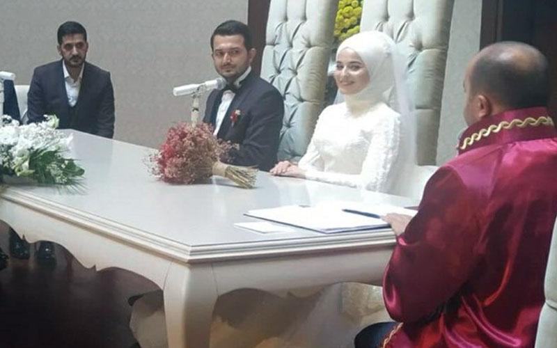 Çameli Kaymakamı Didem Dinç evlendi