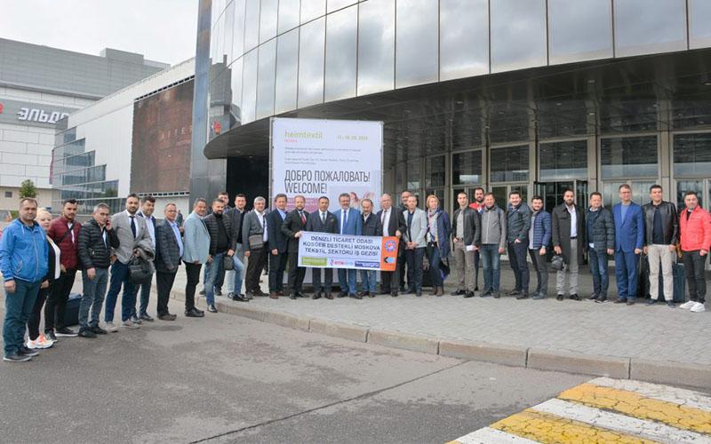 DTO üyeleri, KOSGEB desteğiyle Rusya'daki uluslar arası fuarlarda