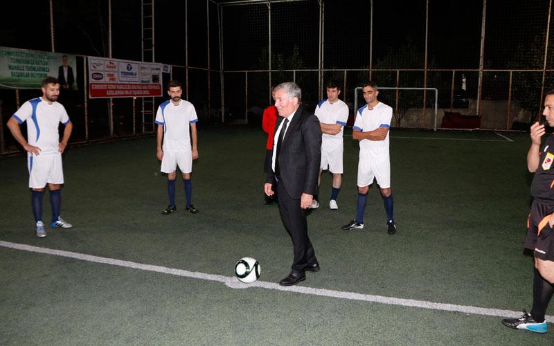 Honaz'da Cumhuriyet Kupası Turnuvası başladı