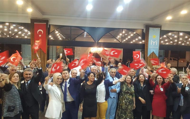 İYİ Parti'nin 2. kuruluş yıldönümü kutlandı