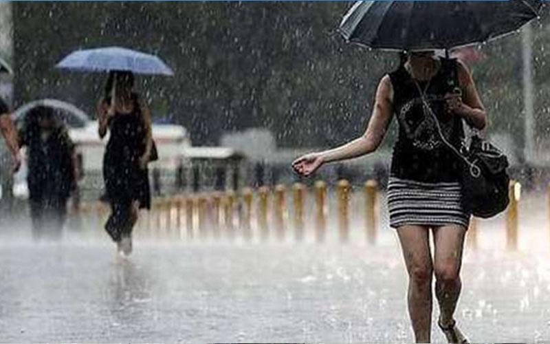 İl genelinde sağanak yağışlı hava