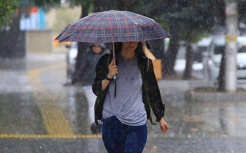 Yağmur ve serin hava geliyor