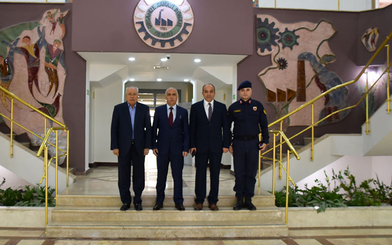 Karahan, Denizli OSB'yi ziyaret etti
