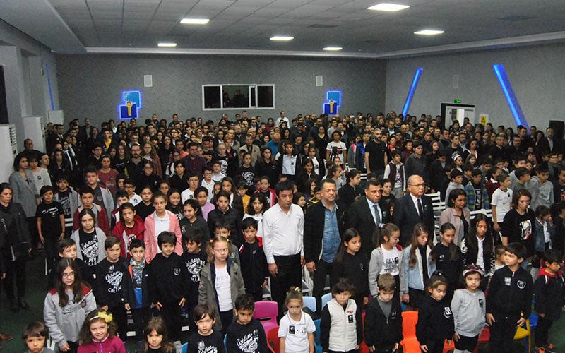 PEV Okullarında Atatürk'le dolu dolu bir gün yaşandı