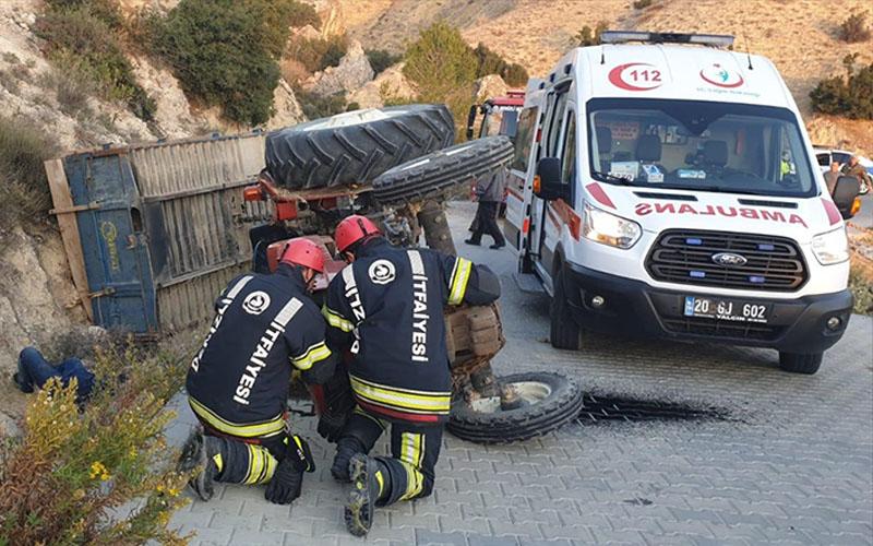Facianın eşiğinden dönülen kazada 9 kişi yaralandı