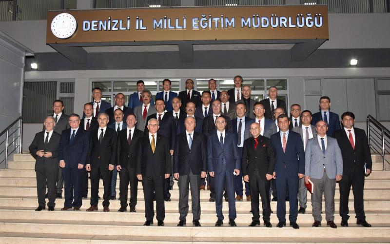 Safran: Denizli'de eğitimin alt yapısı Türkiye ortalamasının üstünde