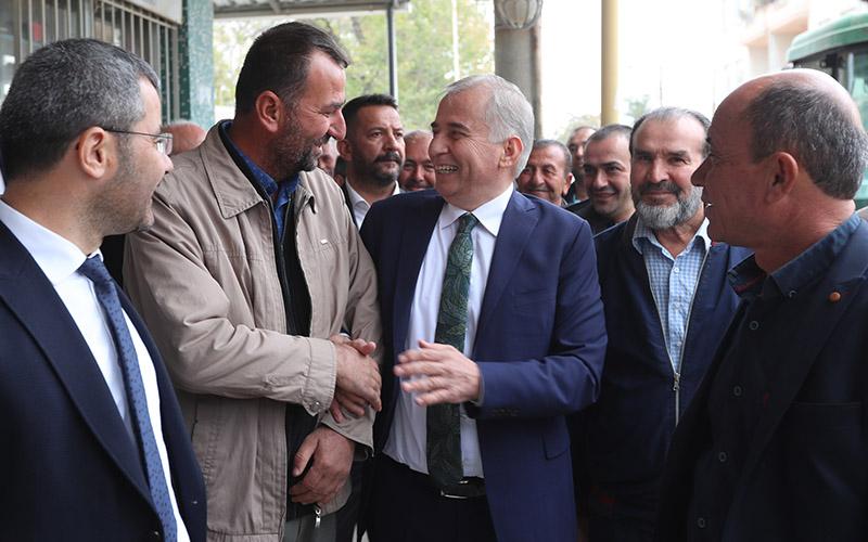 Başkan Osman Zolan Çivril'in 3 mahallesini ziyaret etti