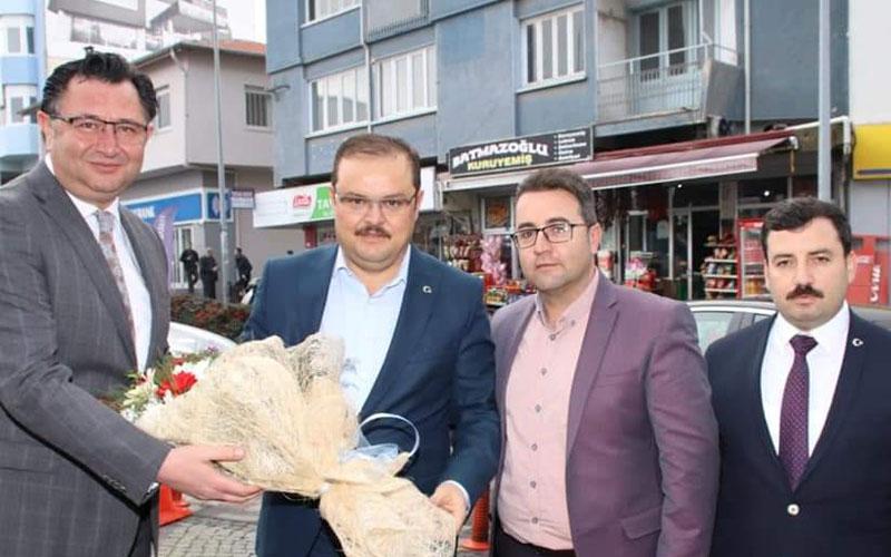 AK Parti Yerel yönetimler Başkan Yardımcısı Öz'den Tavas ziyareti