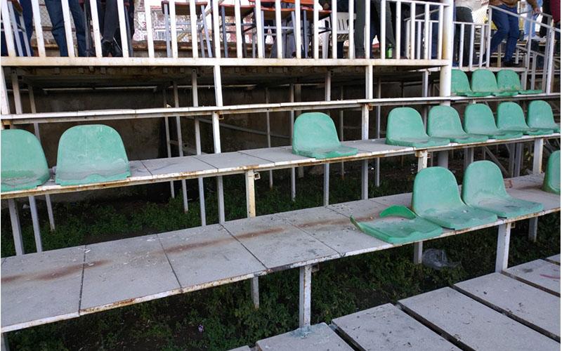Buldan Stadı'nın hali içler acısı
