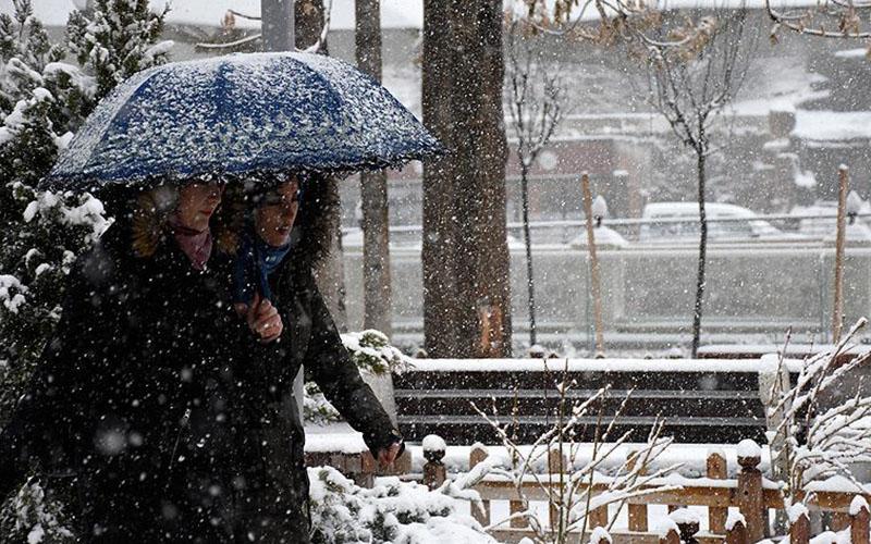 8 ilçeye kar yağışı uyarısı