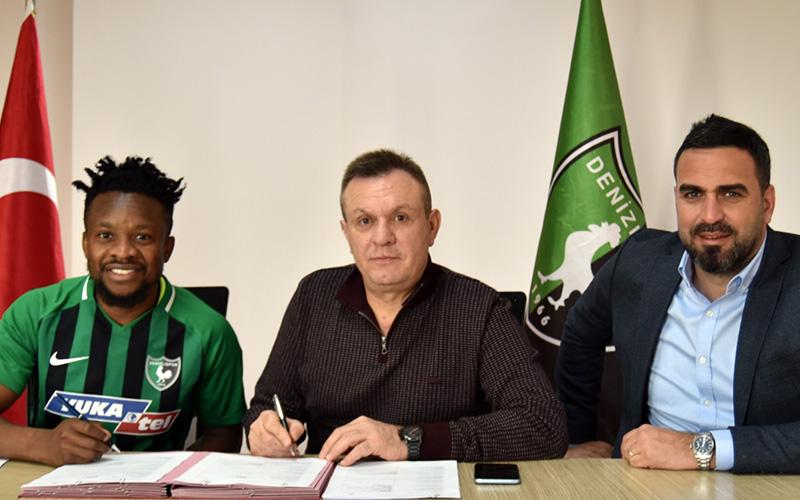 Denizlispor, Onazi ile sözleşme imzaladı