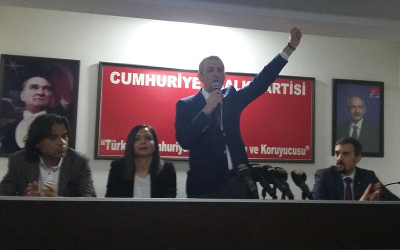 Akbaba, CHP İl Başkanlığına adaylığını açıkladı