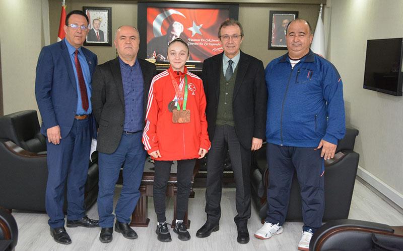 Karateci Damla Su'nun yeni hedefi dünya şampiyonluğu