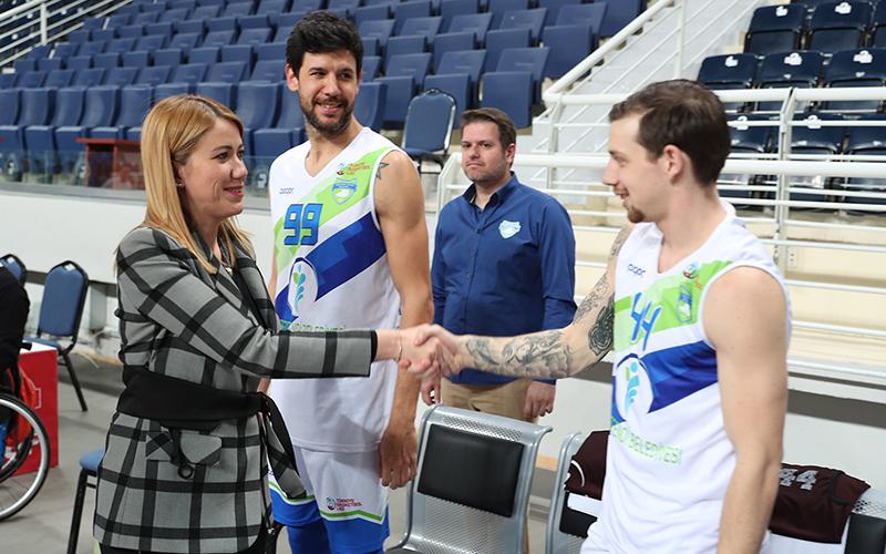 Şeniz Doğan: Basketbol takımımız Denizli markası