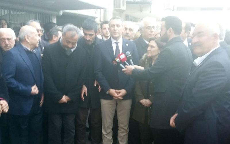 CHP İl Başkanı Akbaba, seçim ofisi açtı