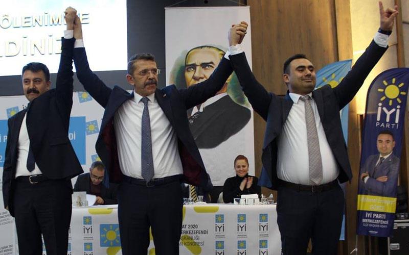 İYİ Parti Merkezefendi İlçe Başkanlığına Gökçe seçildi