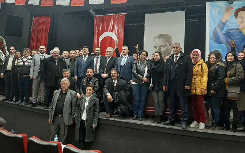 İYİ Parti Pamukkale İlçe Başkanlığına Çobanoğlu seçildi