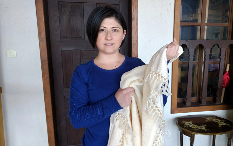 Buldan'dan Japonya'ya el dokuması havlu ihracatı