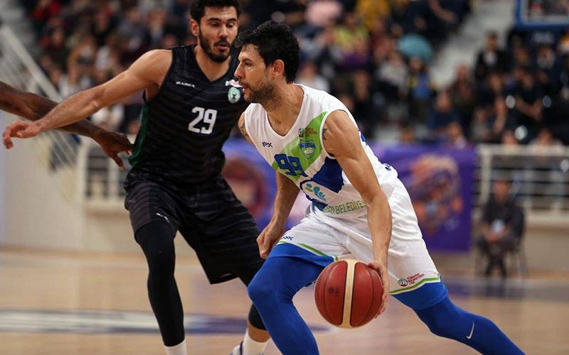 Merkezefendi Belediyesi Denizli Basket evinde rahat kazandı
