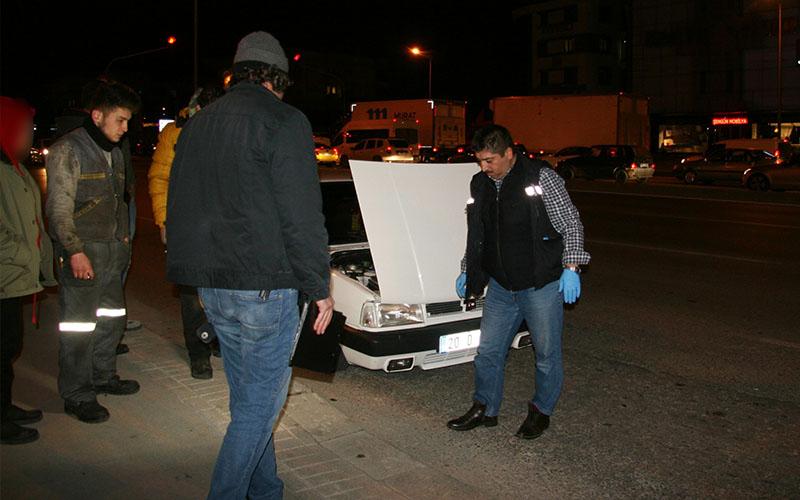 Otomobile saldırdığı iddiasıyla aranan 3 şüpheliden 1'i yakalandı, serbest bırakıldı