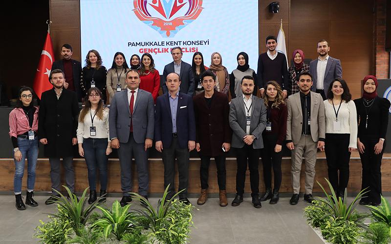 Pamukkale Belediyesi Gençlik Meclisi Yürütme Kurulu seçildi