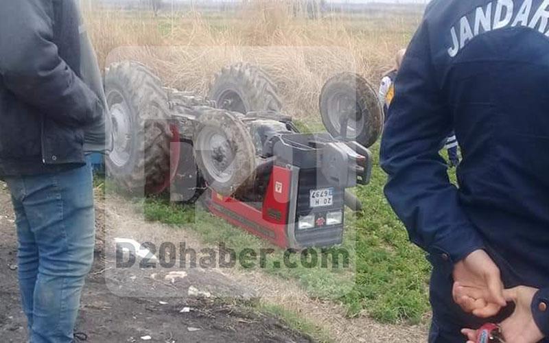 Kadın sürücü traktörün altında kalarak öldü