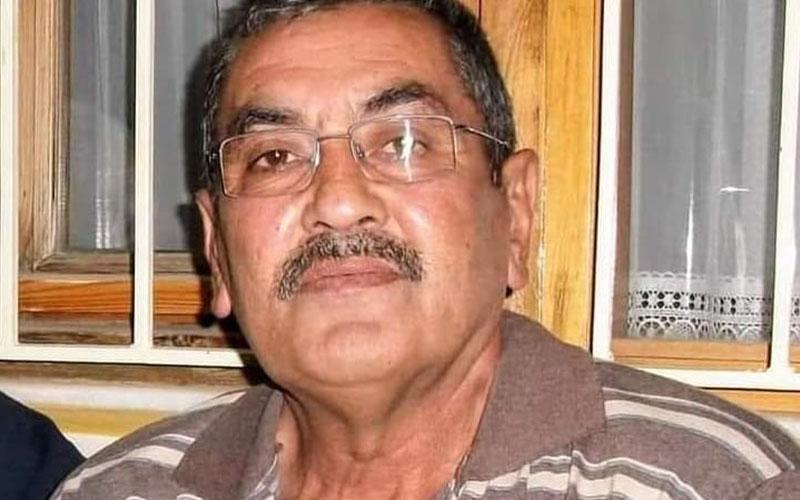 CHP Merkezefendi Yönetim kurulu Üyesi Ali Bayram Bahar vefat etti
