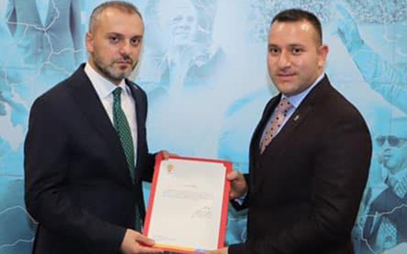 AK Parti Çivril İlçe Başkanlığına Halil Ertuğrul atandı