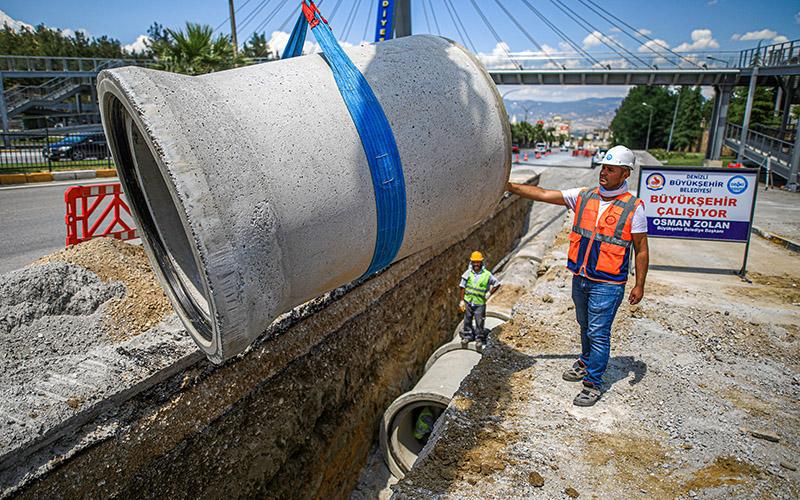 Büyükşehirin altyapı çalışmalarına vatandaşlardan destek geldi