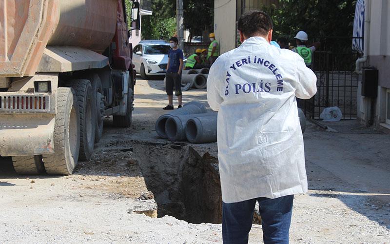Kepçe operatörü doğal gaz hattını deldi: 3 işçi yaralandı