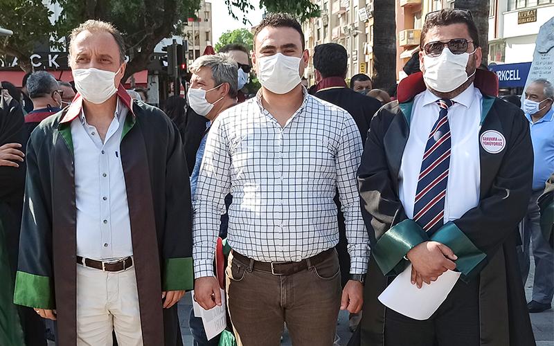 Gökce: Çoklu baro sistemine karşı avukatların yanındayız