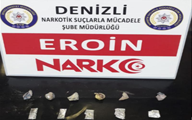 Denizli'de Uyuşturucu taciri 12 kişi tutuklandı
