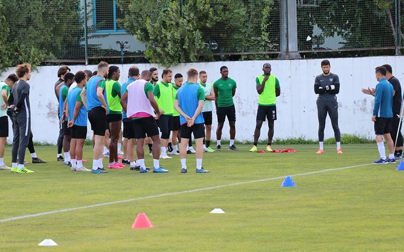 Denizlispor'da Çaykur Rizespor maçı hazırlıkları sürüyor