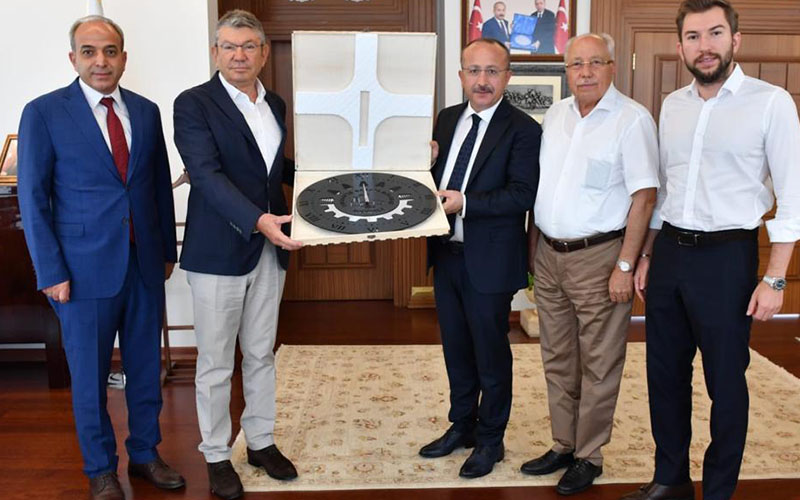 Denizli OSB yönetimi Vali Atik'i ziyaret etti