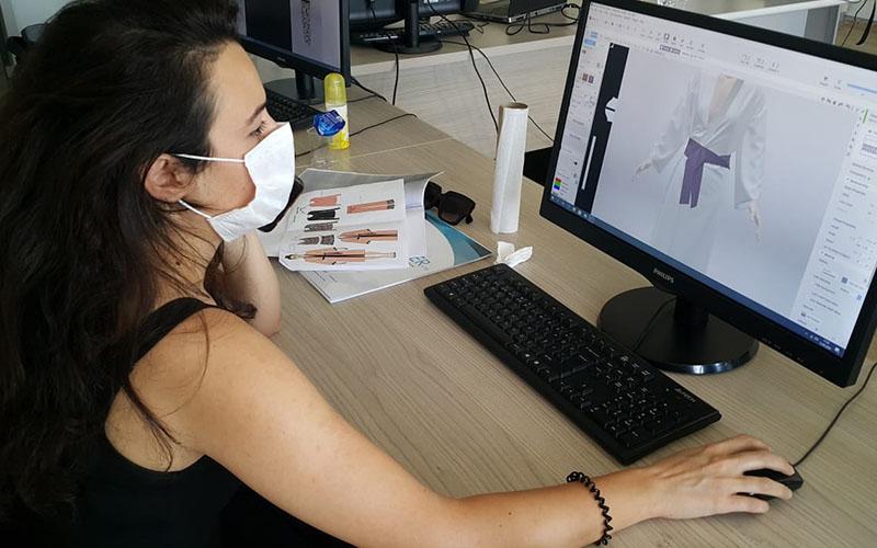 Denizli OSB'de 3D dijital moda tasarım eğitimi verildi