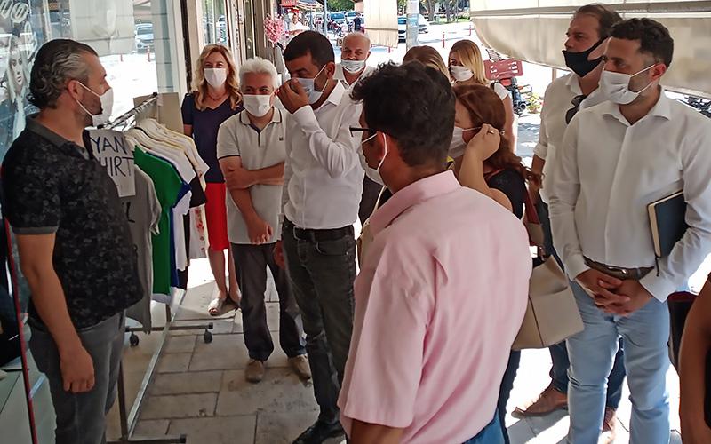 CHP İl Yönetim Kurulu, Çivril'de toplandı