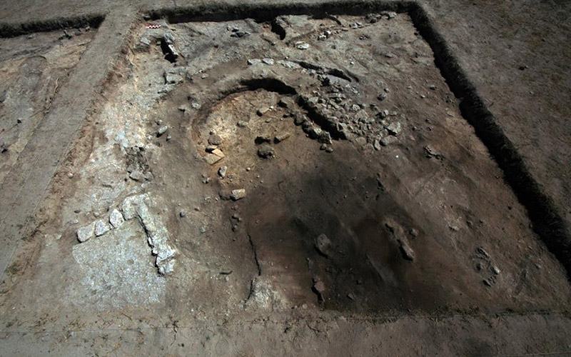 Ekşi Höyük'te 8 bin yıllık apsisli yapı örneklerine rastlandı