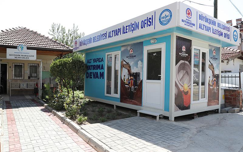 Büyükşehir Belediyesi, Sevindik'a altyapı iletişim ofisi açtı