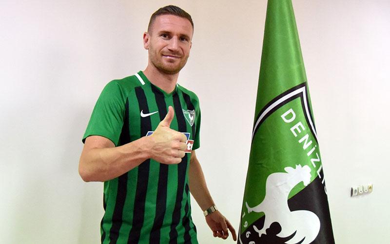 Denizlispor, Boşnak golcü Mesanovic'i transfer etti