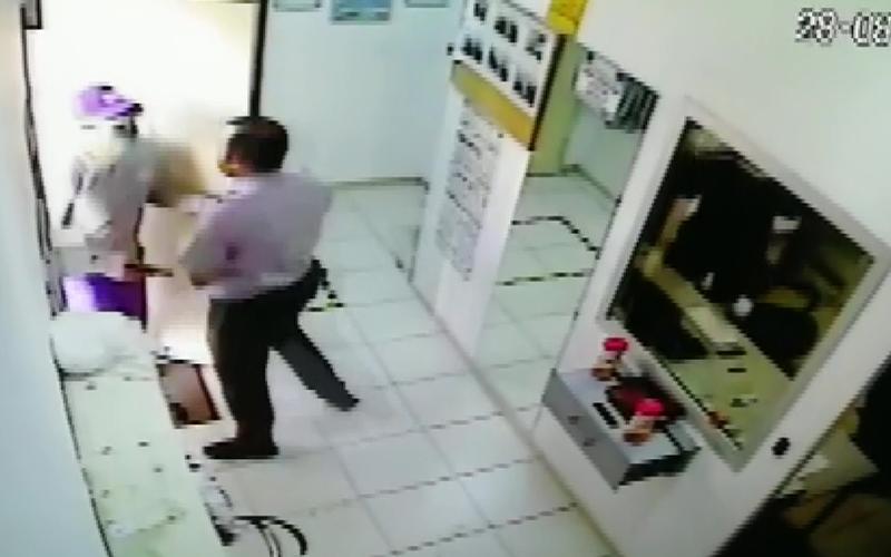 Para transfer merkezinde soygun girişimi