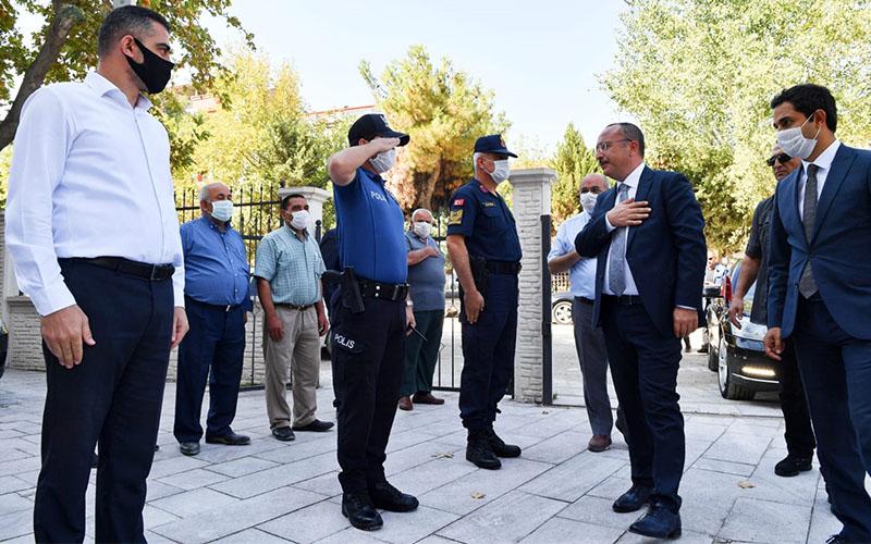 Vali Atik, Serinhisar ve Acıpayam'da incelemeler yaptı