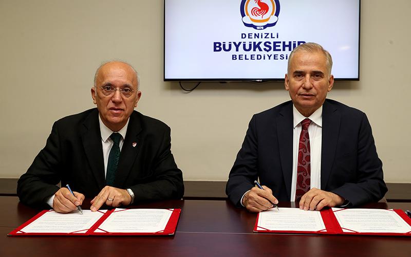 Denizli Büyükşehir Belediyesi ile ASKF arasında iş birliği protokolü imzalandı