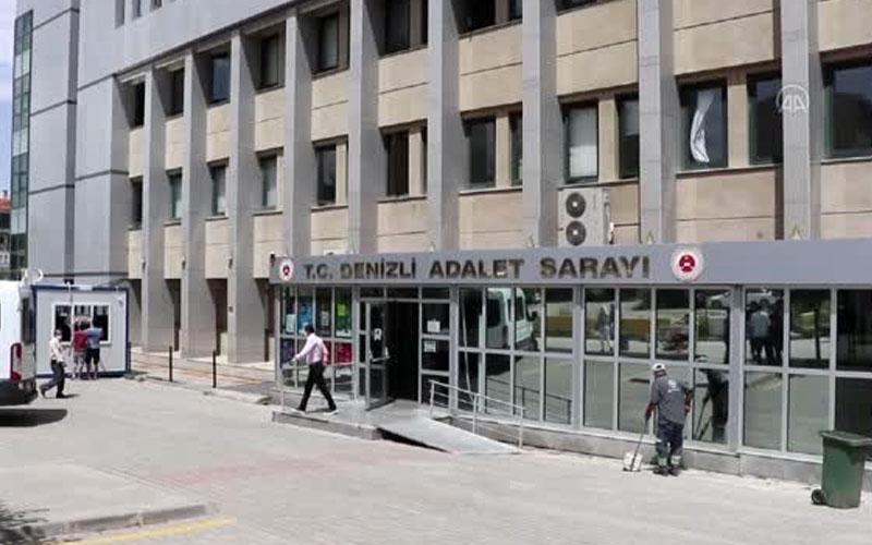 Denizli Adliyesi'ndeki bazı mahkemelerin personelinde COVID-19 çıktı