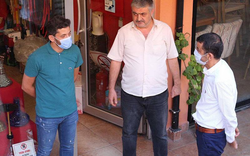 CHP Milletvekili Karaca ve il yönetiminden esnaf ziyaretleri